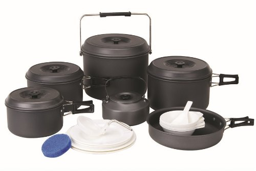 Bulin 12 Person Camping Topf Cookware Geschirr-Sets kettle Im Freien Kessel