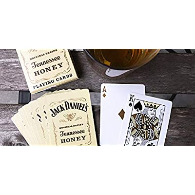 Bicycle Jack Daniels Tennessee Honey Playing Cards: Toys & Games
