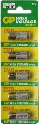 GP High Voltage 12v A23 23AE Batteries x - Alkaline Voltage Battery