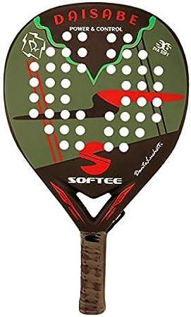 Ningun Fabricante Pala Padel Softee DAISABE - Senior - Perfil 38MM - Carbono - Color Negro Y Verde