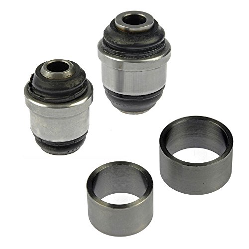 APDTY 016615 Suspension Knuckle Bushing Set (1 Side; Rear Knuckle Upper & Lower) For 1993 Cadillac Allante / 1994-1999 Cadillac Deville / 1993-2002 Cadillac Eldorado / 1993-1997 Cadillac Seville (Replaces GM 18026759, 18026760, 18026757, 18026758, 1926196