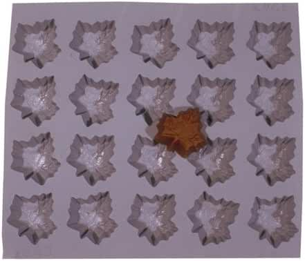 Maple Leaf Rubber Mold