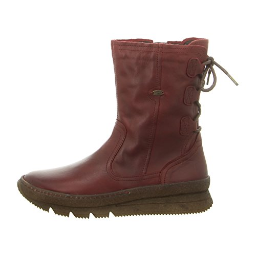 camel active Damen Schnürer/Stiefelette Authentic wine (Rot) 868.73.03