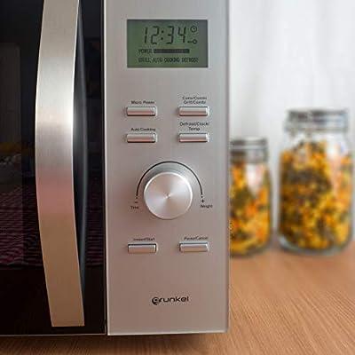 Grunkel - Microondas digital con grill y horno de 30 litros de ...