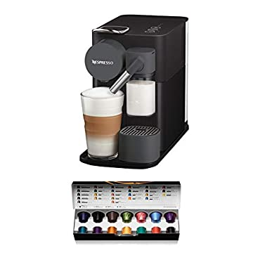DeLonghi-Lattissima-One-Single-Serve-Capsule-Coffee-Machine-Automatic-Frothed-Milk-Cappuccino-and-Latte-EN500B-Black