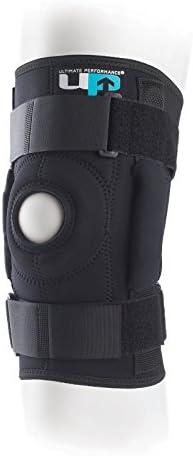 Bis Ultimate Performance Premium tri-axle aufklappbaren Tailored passgenau fixiert Kniebandage Sleeve Brace Guard–4x Große (60–65cm Knie Umfang)