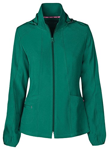 HeartSoul Women's Warm-Up Detachable Hooded - Hooded Quantum Shirt