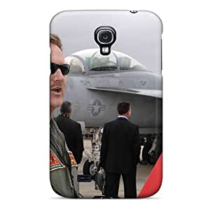 High Quality Shock Absorbing Case For Galaxy S4-u S Navy Cmdr Jonathan Wise Strike Fighter Wing Atlantic Operations Officer T