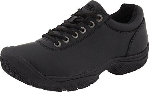 KEEN Utility Men's PTC Dress Oxford Work Shoe,Black,10.5 M US PTC-U311