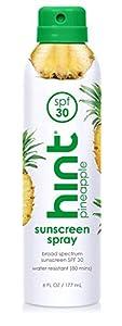 Hint Sunscreen, SPF 30, 6 fl oz, Oxybenzone Free, Paraben Free