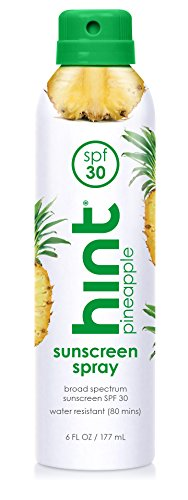 Hint Sunscreen Oxybenzone Pineapple Compressed product image