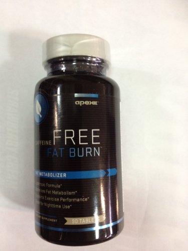 Apex sans caféine Fat Burn, un métaboliseur Fat, 90 Bouteille Tablet
