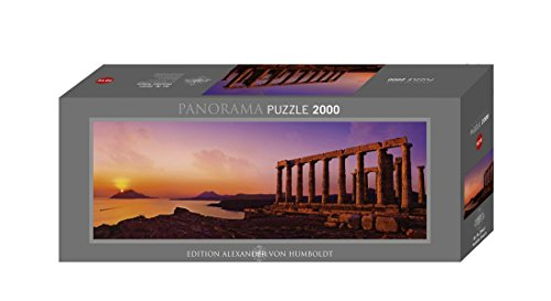 Poseidon Temple Panoramic Jigsaw Puzzle by Heye