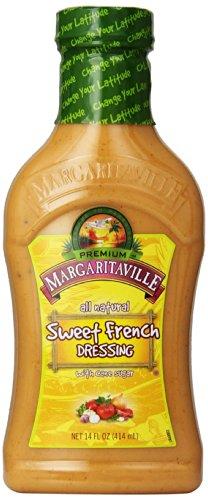 Margaritaville French Dressing, Sweet, 14 Ounce (Pack of 6)