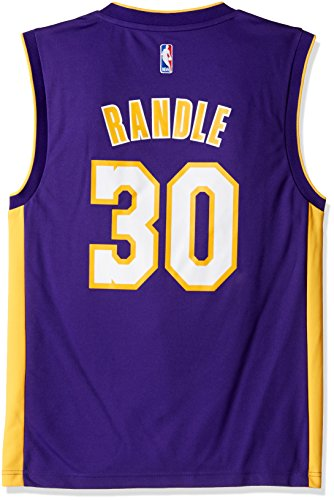 NBA Los Angeles Lakers Julius Randle #30 Men's Road Replica Jersey, Large, Purple