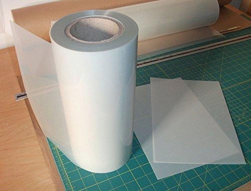 Mylar stencil rotolo 350 micron venduto per metri x 300mm - stencil fogli a buon mercato Ideal Stencils