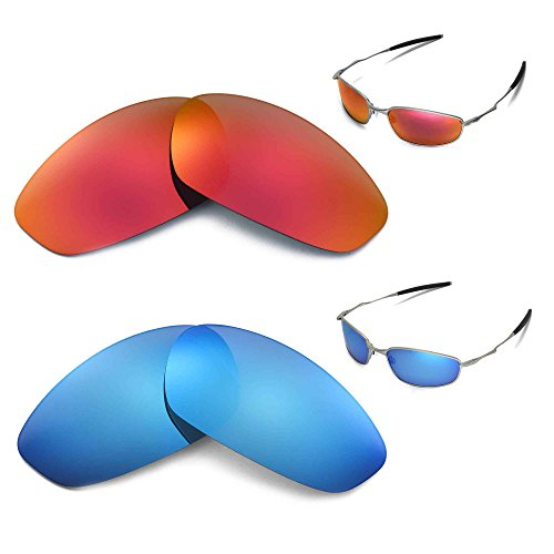 Walleva Polarized Lenses Oakley Whisker
