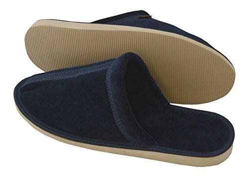 Suaves De Marino Casa Mb51 Azul Becomfy Estar Algodón Pantuflas Por Hombre Zapatillas Para Confortables Ligeras xqwnP6Z