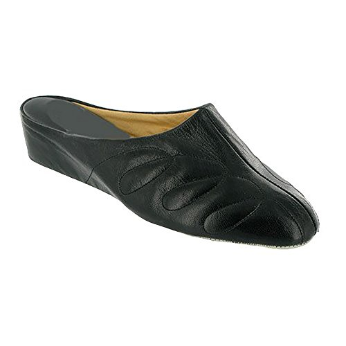 Cincasa Menorca Mahon Ladies Slipper/Womens Slippers (41 EUR) (Black)