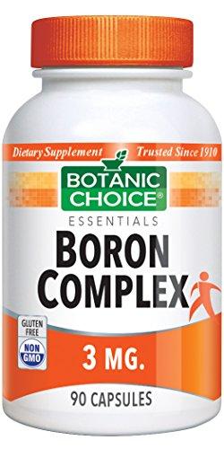(Botanic Choice Boron Complex 3 mg, 90 Capsules)