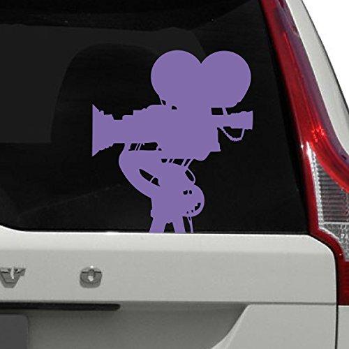 Titans unique design Film Camera Car Decal, Purple, 12