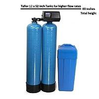 DuraWater 64k 9100sxt water softener, 64,000 Grains, Blue