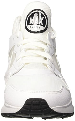 Nike Homme Blanc pure 100 Platinum black white Mode Air Max Baskets white Prime rx1rnT