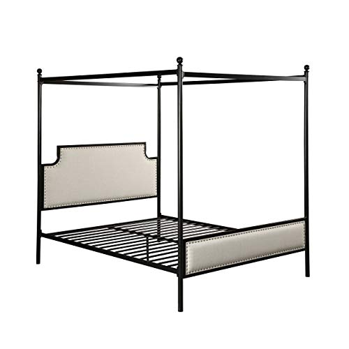 iron canopy bed - 3