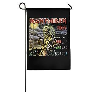 Interior/exterior Iron Maiden asesinos casa bandera