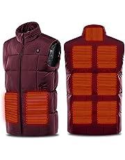 ULSTAR Heating Vest Electric USB Heated Winter Jacket Vest for Men Women