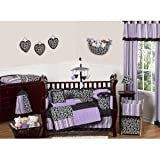 Sweet Jojo Designs Kaylee Bed Skirt for Toddler Bedding Sets