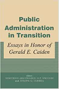 traditional public administration essays