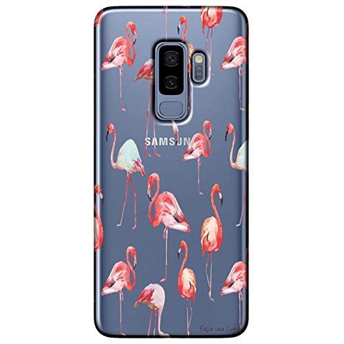 Capa Personalizada Samsung Galaxy S9 Plus G965 - Flamingos - TP315