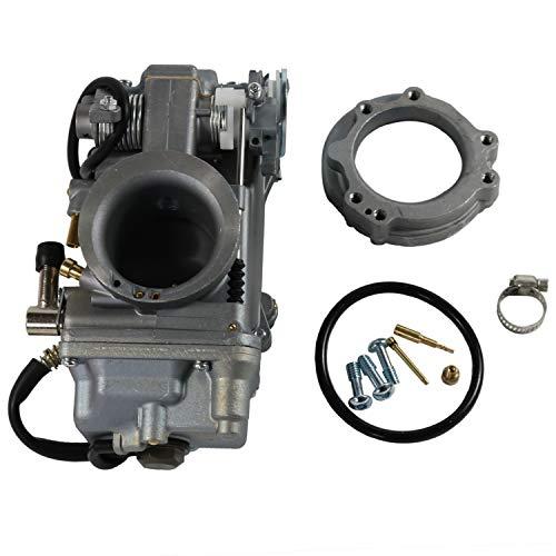 Mikuni Hsr Carb - JDMSPEED New Carburetor Easy Kit 42-18 42 MM For Mikuni HSR Carb EVO Twin Cam Evo