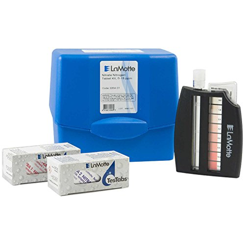 LAMOTTE 335401 Water Testing Kit, Nitrate, 0 to 15 PPM
