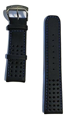 Original Citizen Eco-Drive Proximity Black Leather 22mm Band Strap for Watch (05e Eco Drive)
