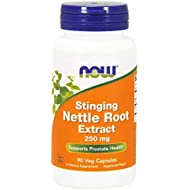 NOW Supplements, Stinging Nettle Root Extract (Urtica dioica) 250 mg, Supports Prostate Health*, 90 Veg Capsules