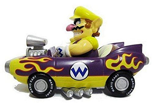 Nintendo Mario Kart Wii Pull-Back Car Mini Figure - 3