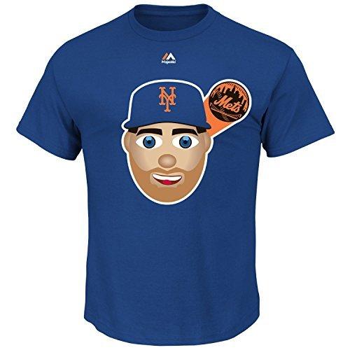 Majestic Matt Harvey New York Mets #33 MLB Youth Emoji Name & Number T-Shirt (Youth Large 14/16)