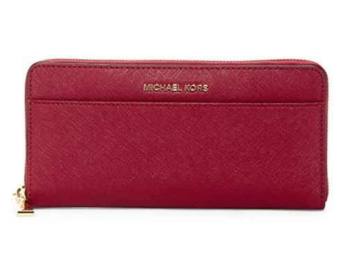 MICHAEL Michael Kors Mercer Pocket Zip Continental Wallet, Mulberry ()