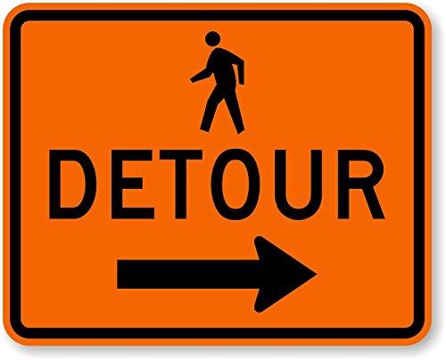 pedestrian-detour-right-arrow-engineer-grade-reflective-aluminum-sign-80-mil-30-x-24