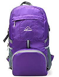 Hopsooken 33L Ultra Lightweight Travel Water Resistant Packable Backpack for Hiking Cycling Sports Daypack Backpack