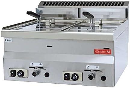 Cocina modular Freidora a gas Gastro-M 8 + 8 litros GL907: Amazon ...