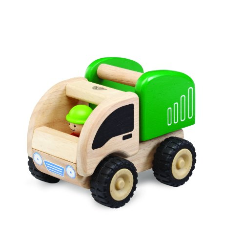 Wonderworld Green Miniature Wooden Dumper product image