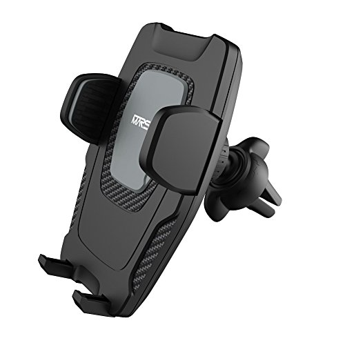 Air Vent Phone Holder, Marsee Universal Phone Car Mount with Gravity Self-locking 360 Rotation Cell Phone GPS Holder,Car Air Vent Mount Holder Cradle Compatible with iPhone Samsung Galaxy and More (Vent Gps)