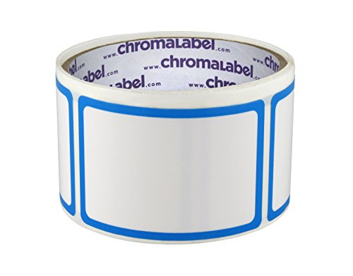 2 x 3 inch Dry Erase Labels | Removable Adhesive | 50/Roll (Without Protective Flap) (Dry Squares Erase)