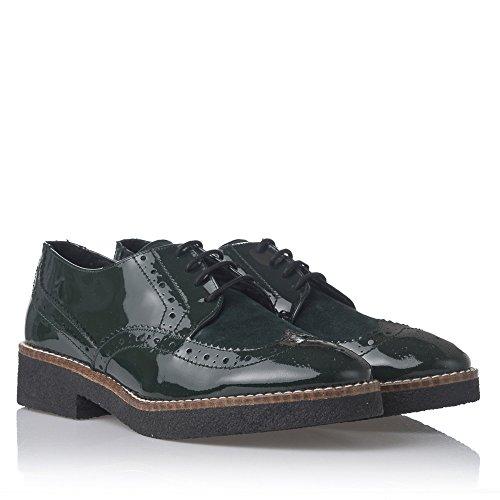 Laura Moretti Zapatos de Cordones Negro EU 40 0tDptTEzp