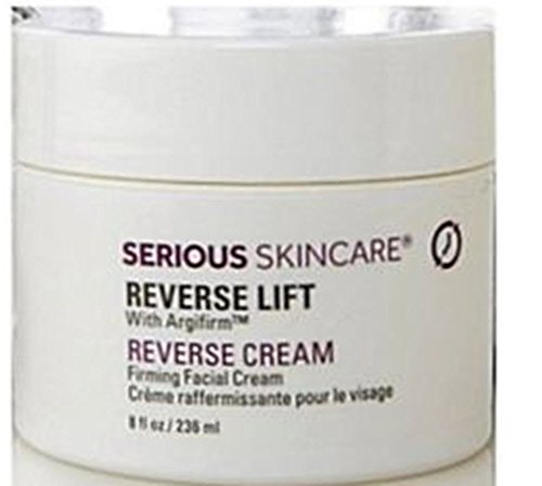Skin Care Mall (Serious Skincare Reverse Lift Firming Face Cream 8 oz Super Size~ 4X Normal Size )