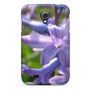 Special NikRun Skin Case Cover For Galaxy S4, Popular Hyacinth 12375 Phone Case