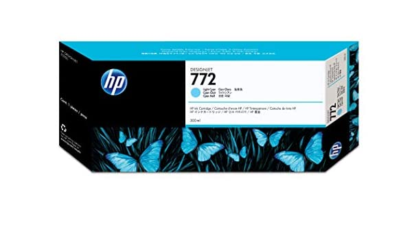 HP 772 Original Cian claro - Cartucho de tinta para impresoras ...